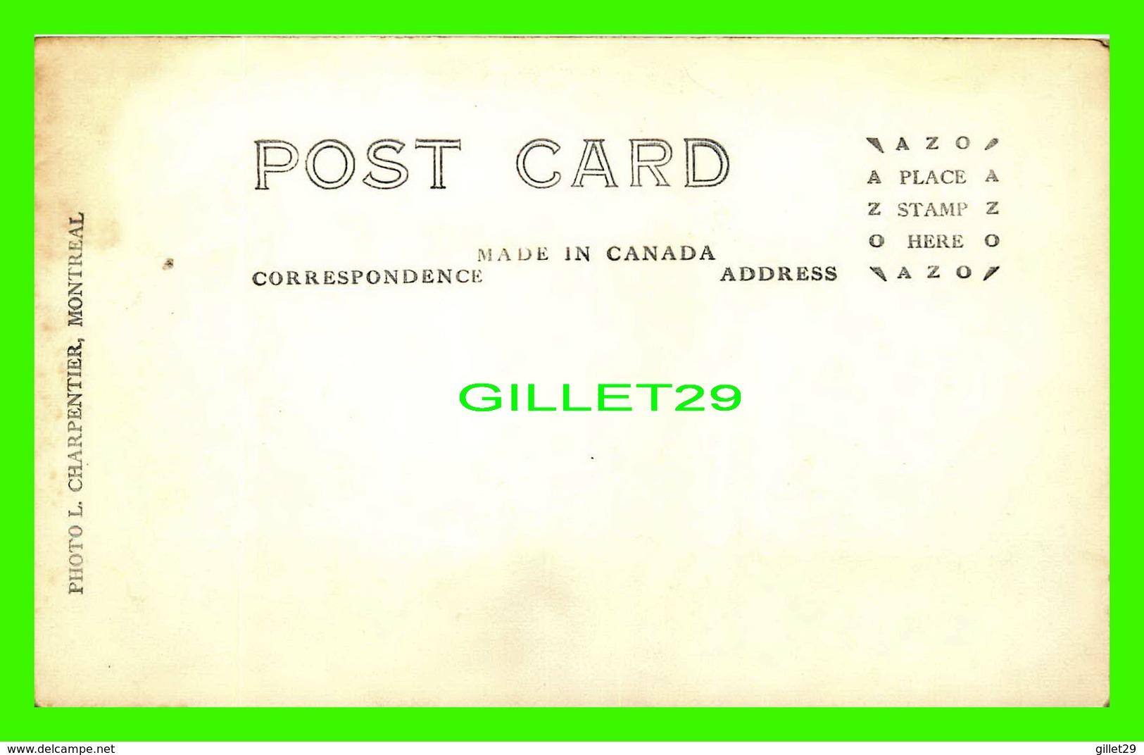 STE ANNE DES LACS, QUÉBEC - AUBERGE DU GROS-SAPIN, LAC GUINDON - PHOTO L. CHARPENTIER - ANIMÉE DE VIEILLES VOITURES - - Quebec