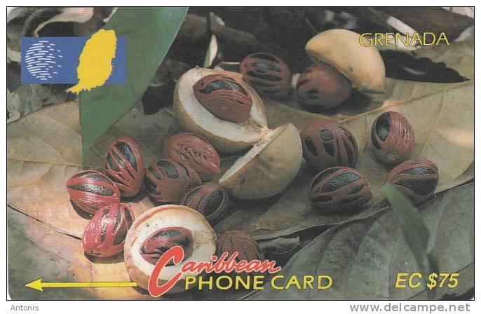 GRENADA(GPT) - Nutmeg, CN : 6CGRD, Tirage 12000, Used - Grenada
