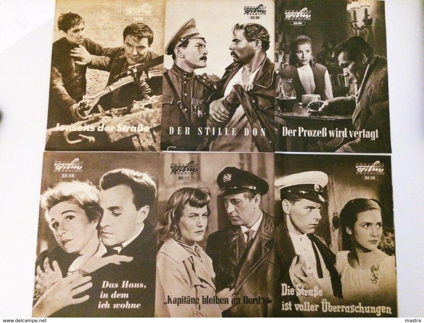 41 PROGRESS-FILMPROGRAMME 1958 - Film & TV