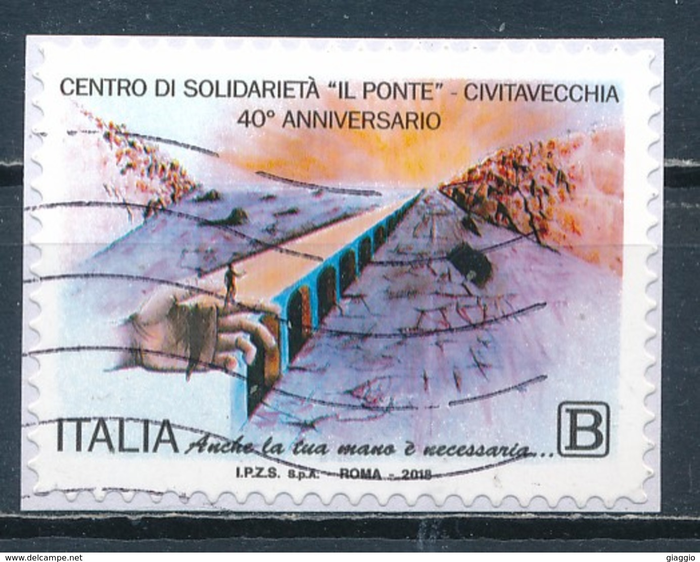 °°° ITALIA 2018 - CIVITAVECCHIA - CENTRO SOLIDARIETA IL PONTE °°° - 1946-.. République