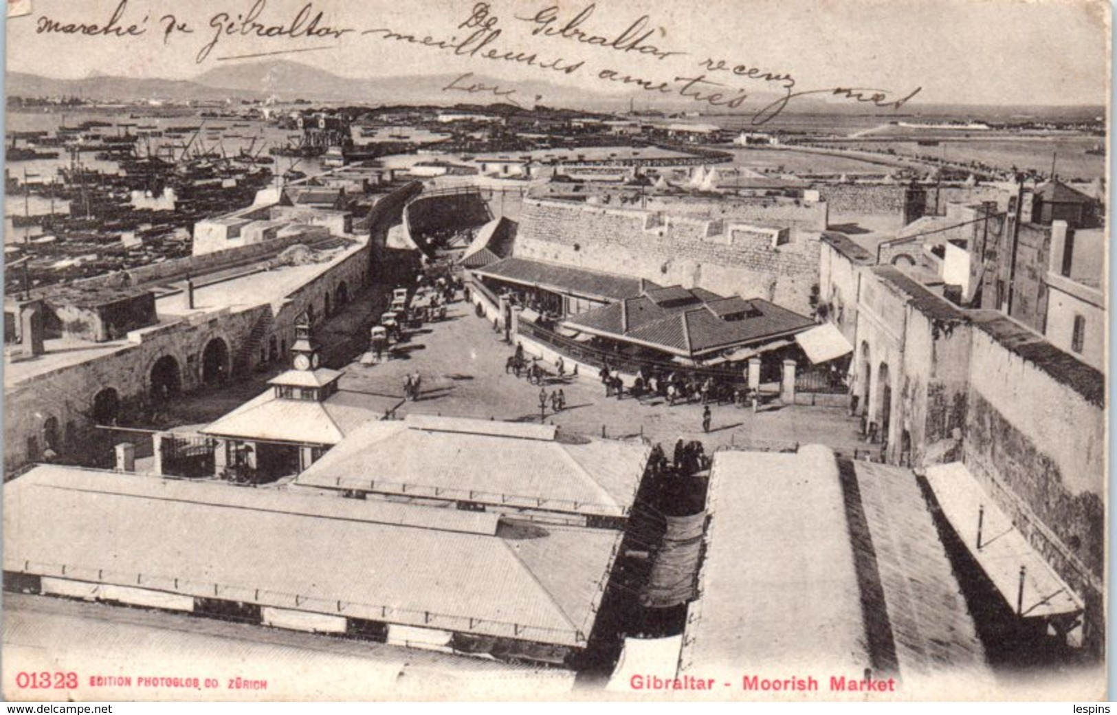 GIBRALTAR -- Moorish Market - Gibraltar