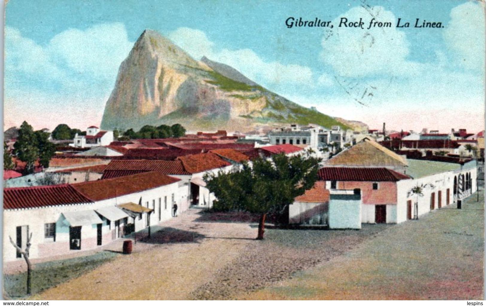 GIBRALTAR -- Rock From La Linea - Gibraltar