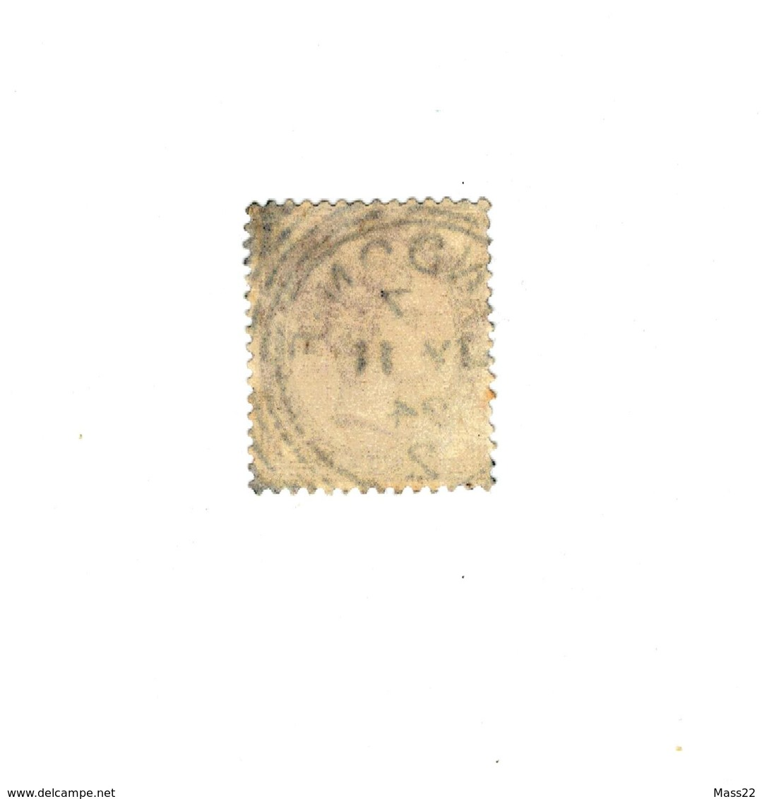 One Penny Victoria Lilac - Postage And Inland Revenue, Without WM - 1840-1901 (Victoria)