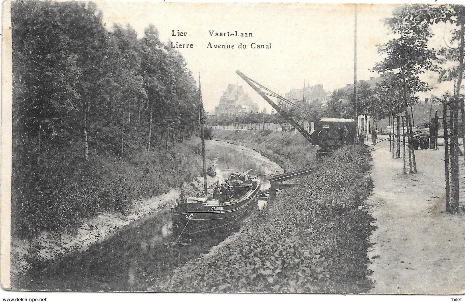 Lier NA27: Vaart Laan 1921 ( Péniche ) - Lier