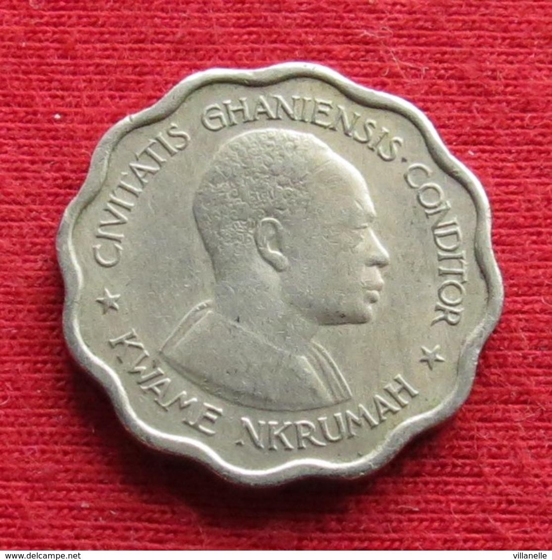 Ghana 3 Three Pence 1958 KM# 3 *V2 Gana - Ghana