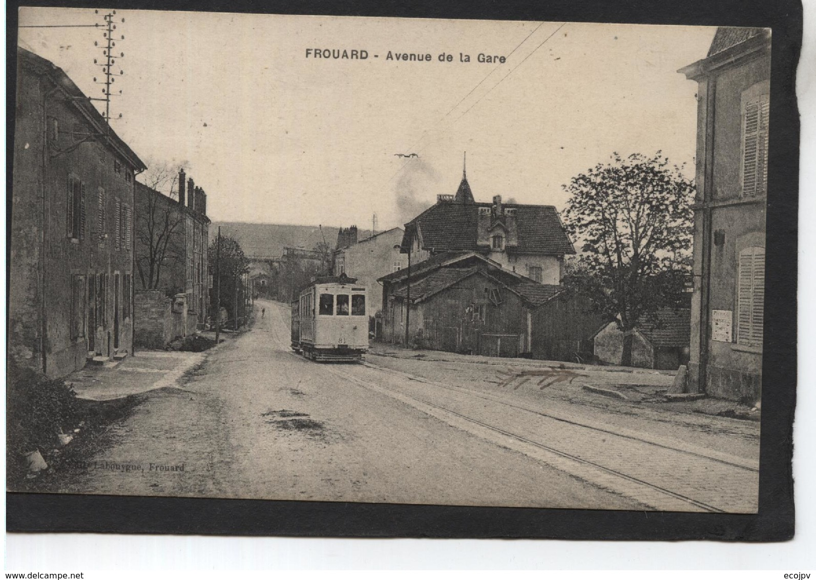 FROUARD - Avenue De La Gare - Frouard