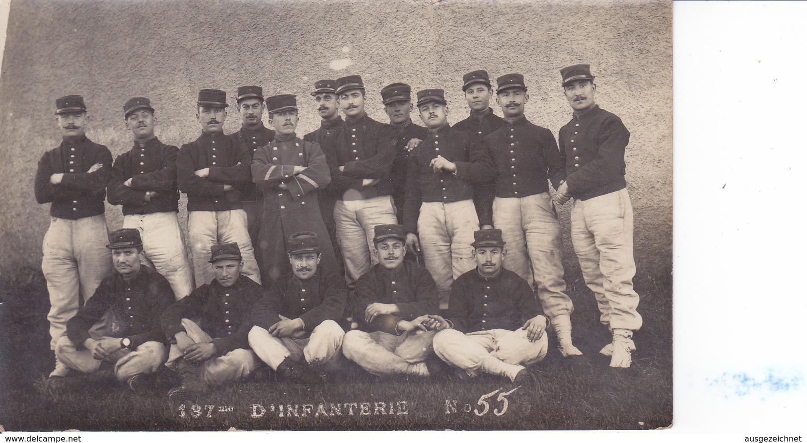 Fontenay Le Comte - 197° Infanterie N°55 - Fontenay Le Comte