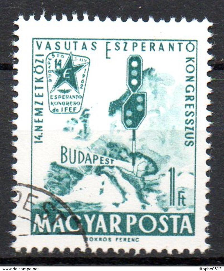 HONGRIE. N°1494 Oblitéré De 1962. Espéranto. - Esperanto