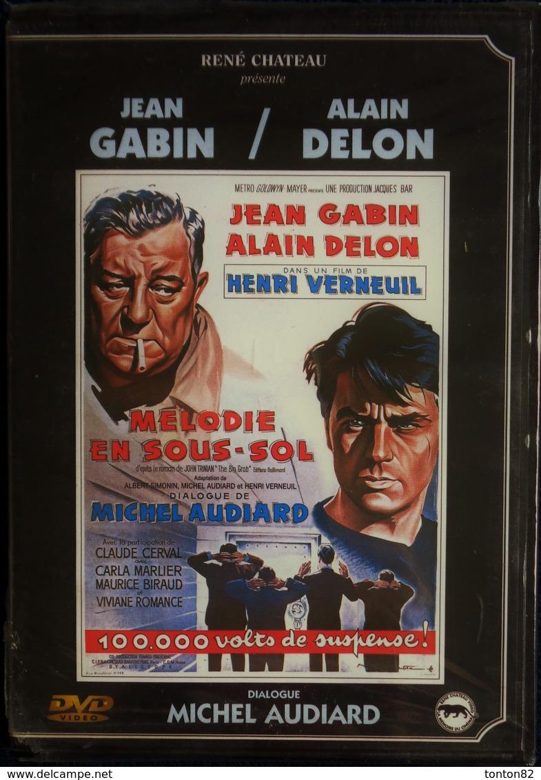 Mélodie En Sous-sol - Film De Henri Verneuil - Jean Gabin - Alain Delon . - Policiers