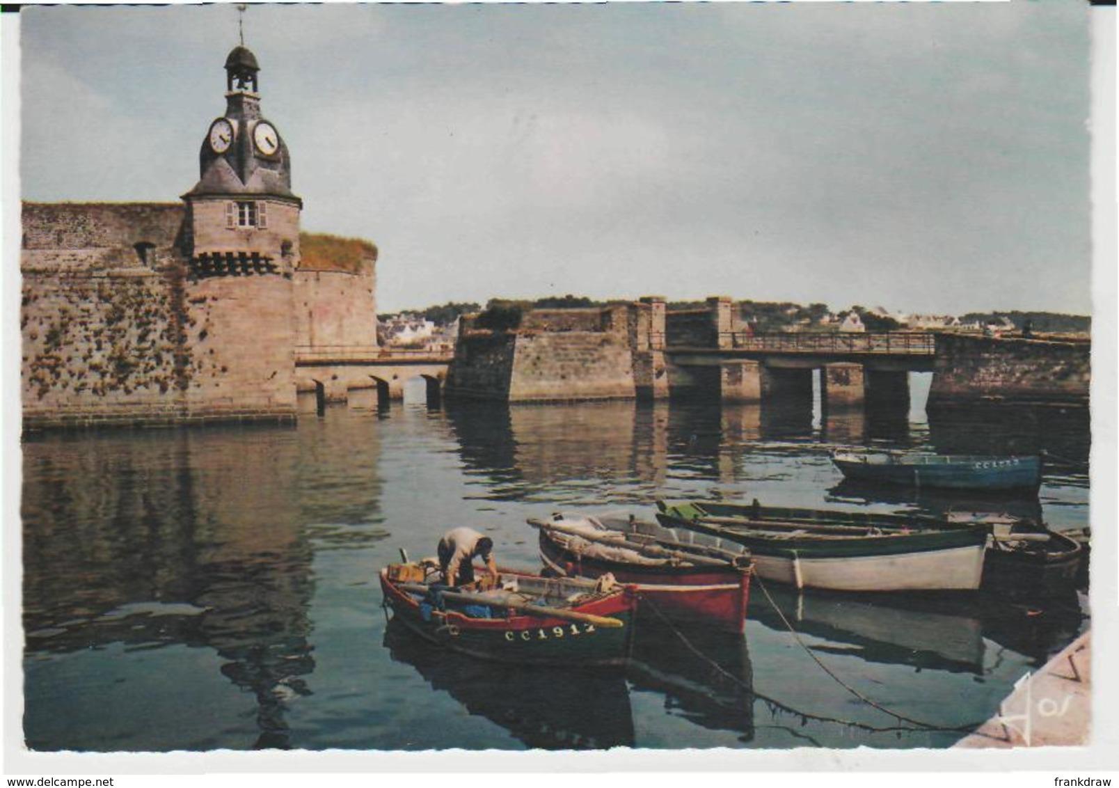 Postcard - Le Bretagne En Couleurs - Concarneau - Finistere No Card No..  - Unused Very Good - Postcards