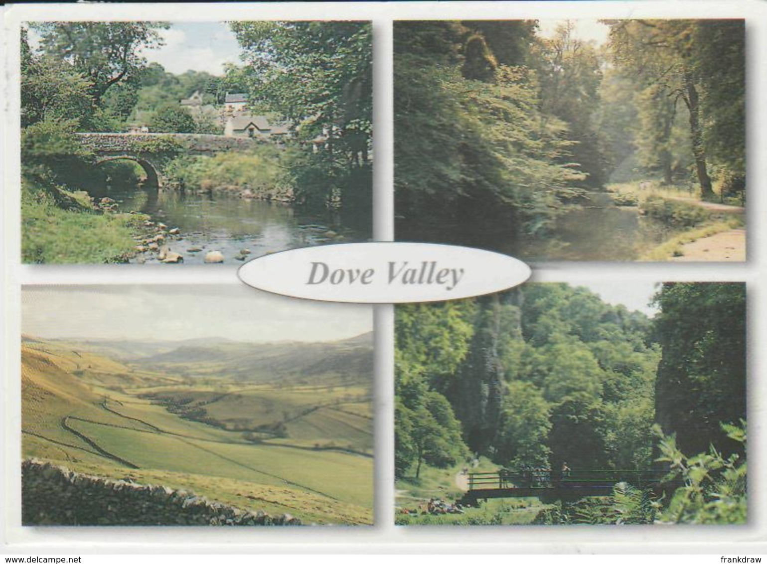 Postcard - Mill Dale - Beresford Dale - Dove Valley Card No..pkd214  - Posted  But Date Obscured Very Good - Postcards