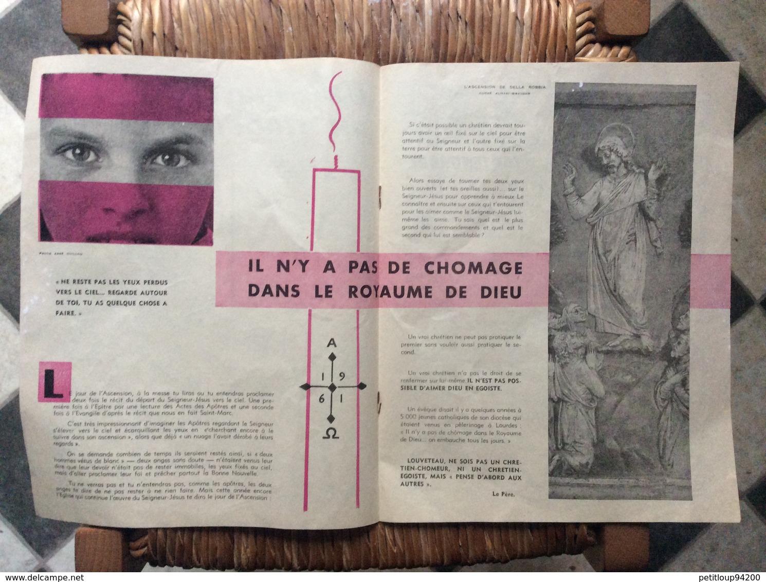 SCOUTISME SCOUT DE FRANCE Revue Bimensuelle No 8 Avril 1961  LOUVETEAU - Scouting