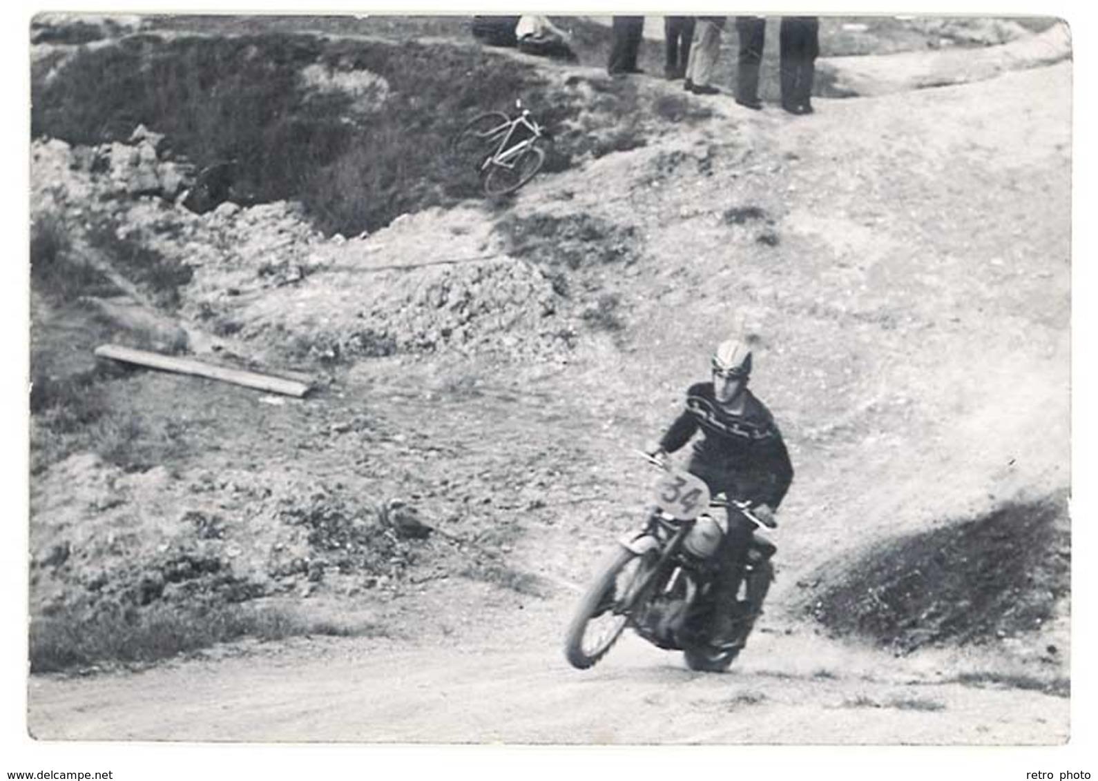 5 Photo Motos Course, Moto Cross - Automobiles