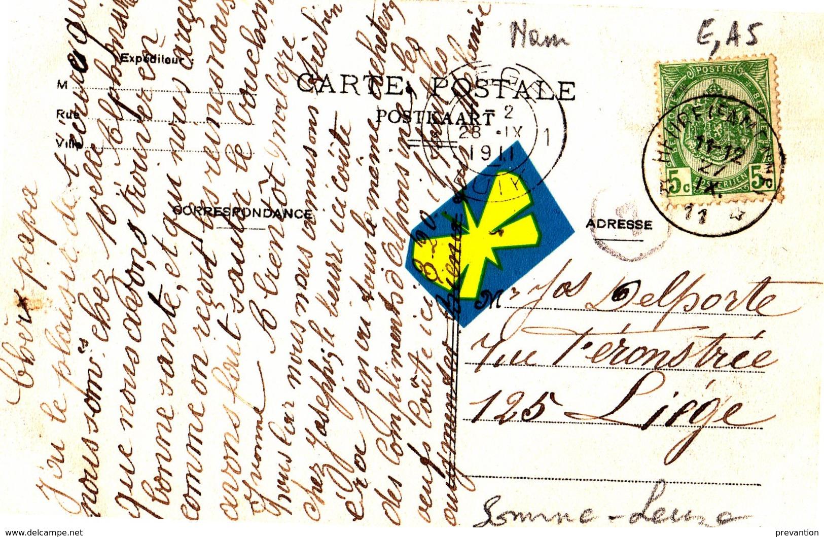 BAILLONVILLE - Maison De M. Martin Et Vue Panoramique - Superbe Carte Circulée En 1911 - België
