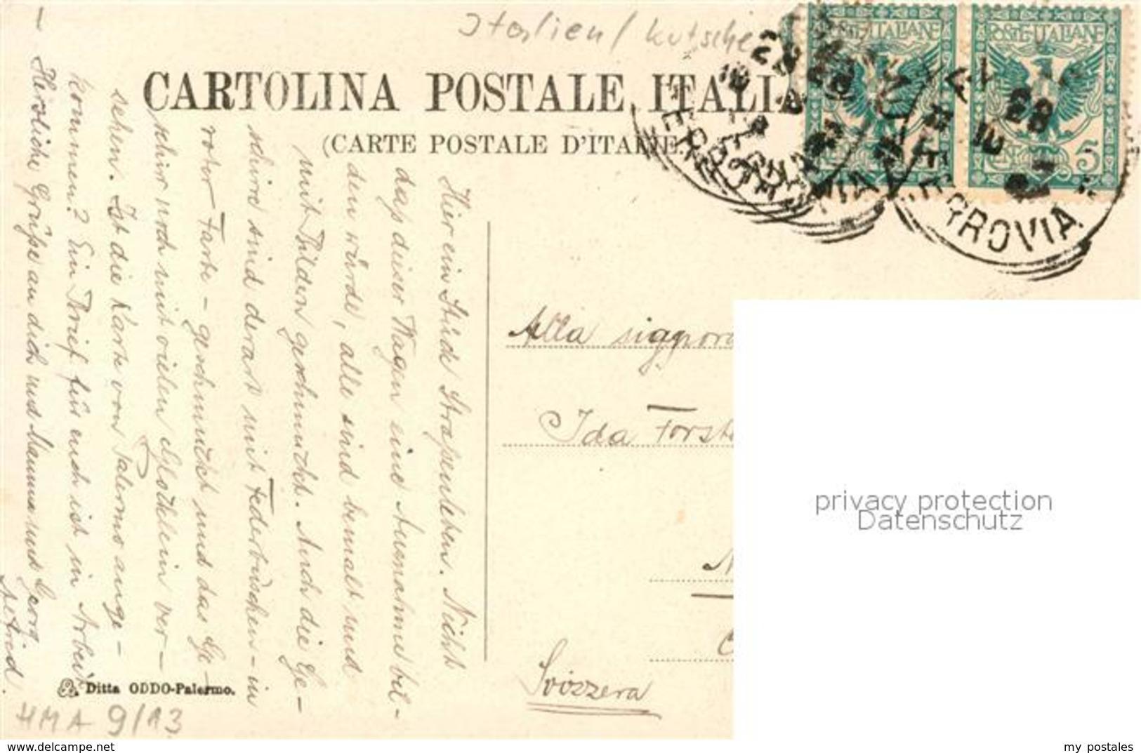 43532883 Palermo_Sicilia Carro Siciliano Palermo_Sicilia - Unclassified