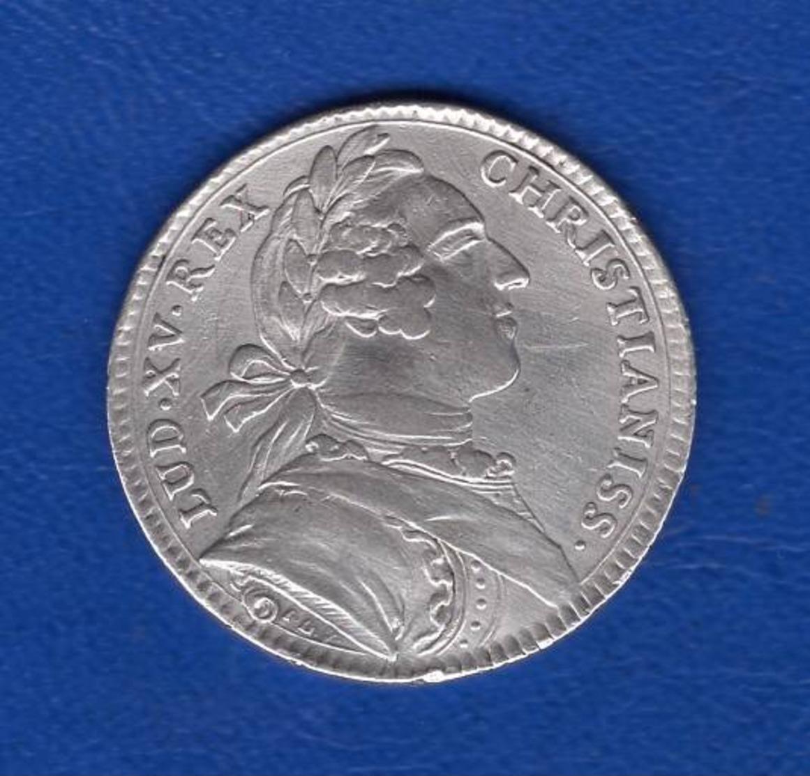 Louis  Xv  Arg  1760 - Royaux / De Noblesse