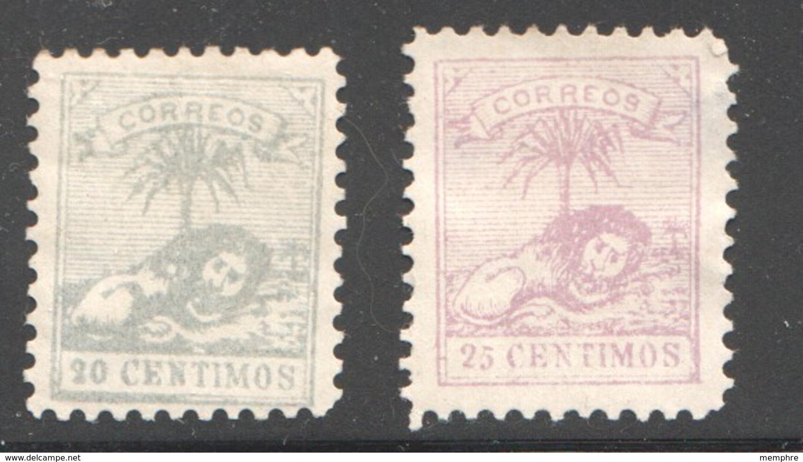 TANGER à TETOUAN  2 Valeurs, Neufs Sans Gomme 25 Cent Léger Aminci - Marokko (1891-1956)