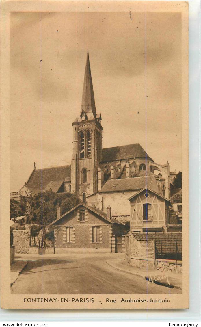 24305 - FONTENAY EN PARISIS - RUE AMBROISE JACQUIN - France