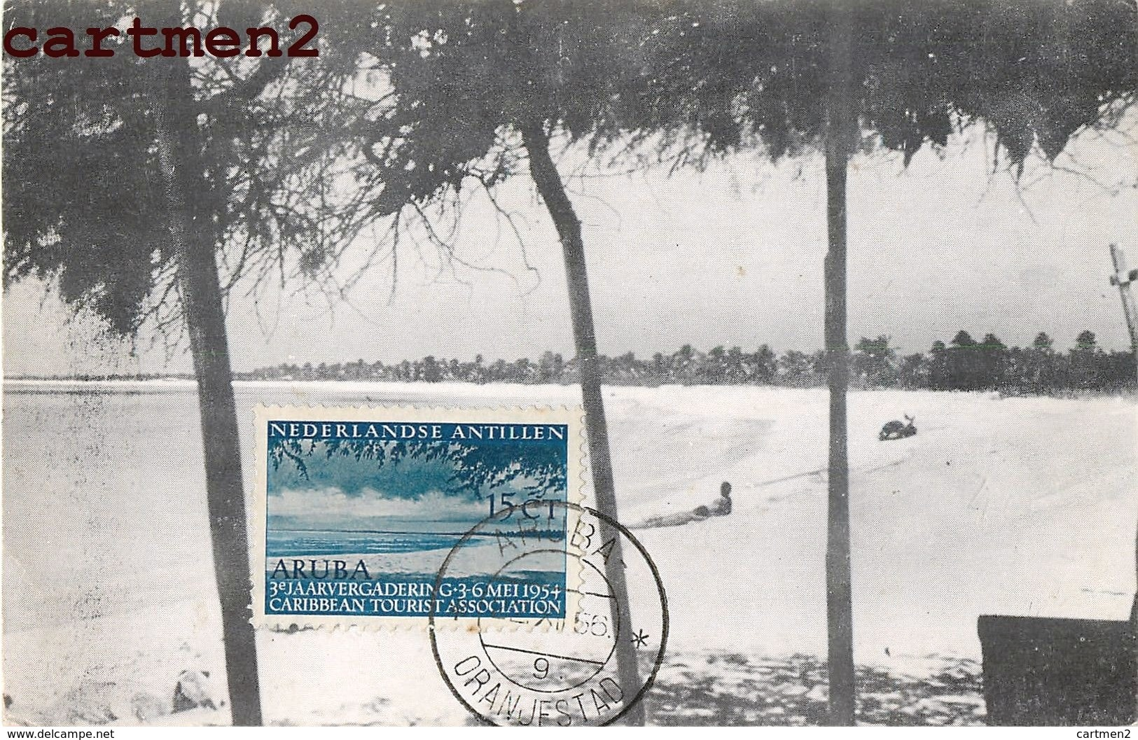 Aruba Niederländische Antillen Antilles Venezuela Stamp Oranjestad - Venezuela