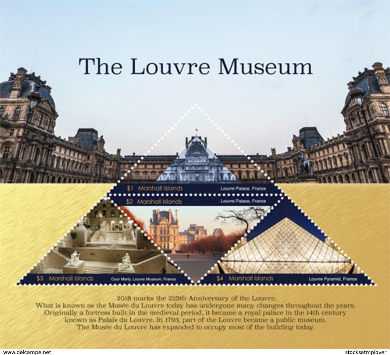 Marshall Islands  2018  Louvre Museum , Painting  I201901 - Marshall Islands