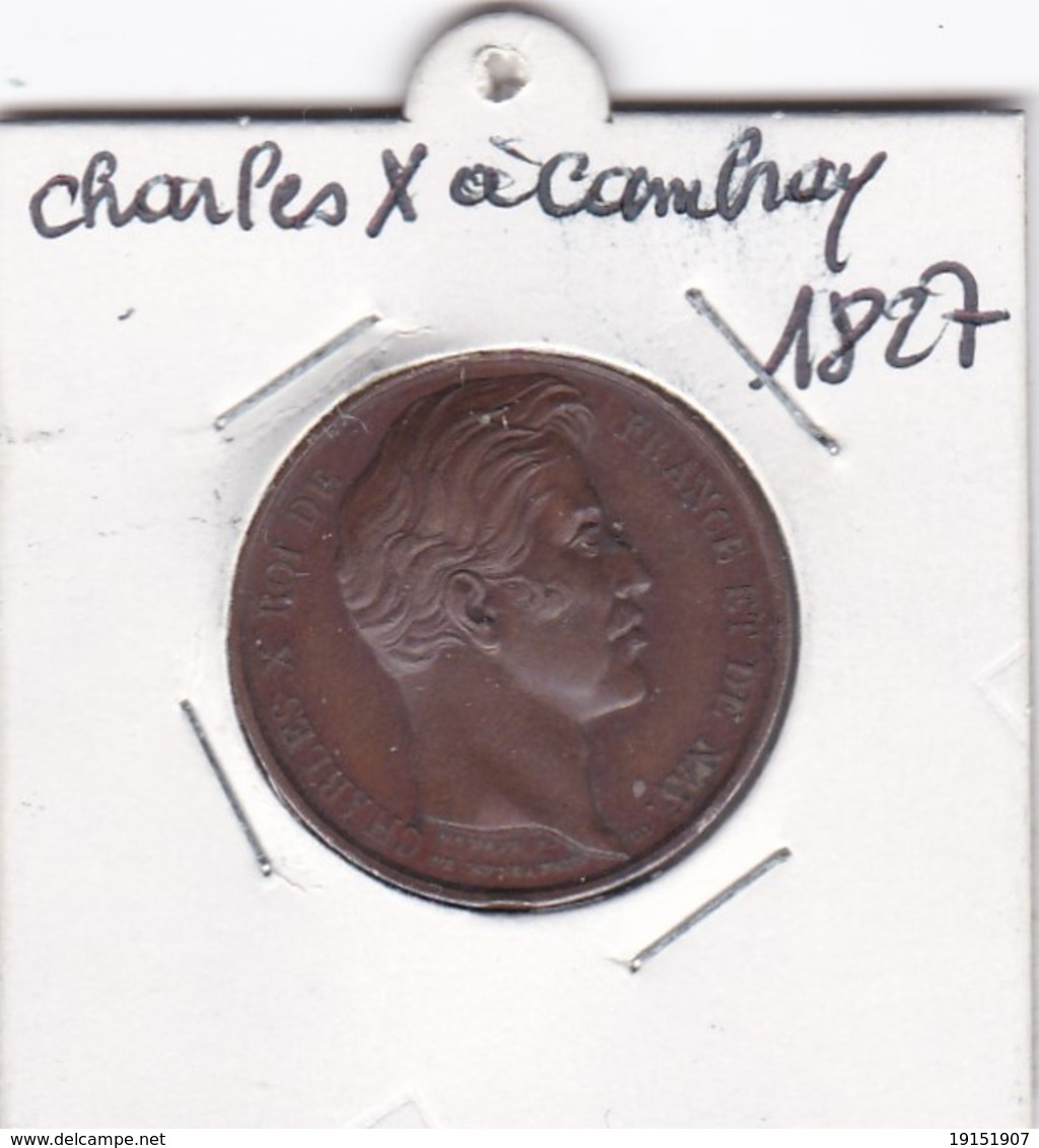 CHARLES  X  A CAMBRAY LE 4 SEPTEMBRE  1827 - France