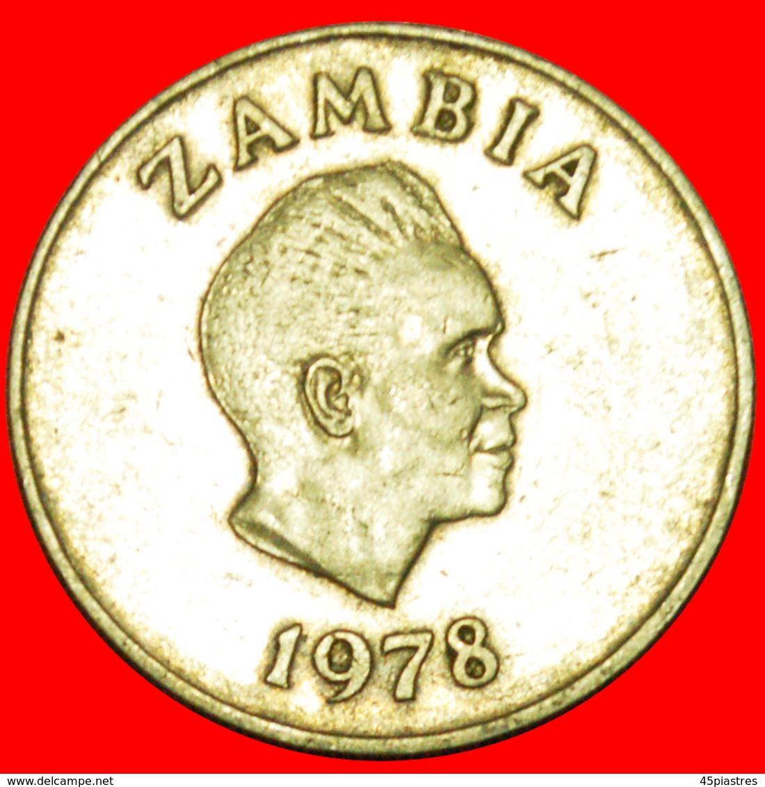 + GREAT BRITAIN: ZAMBIA ★ 10 NGWEE 1978! LOW START ★ NO RESERVE! - Zambia