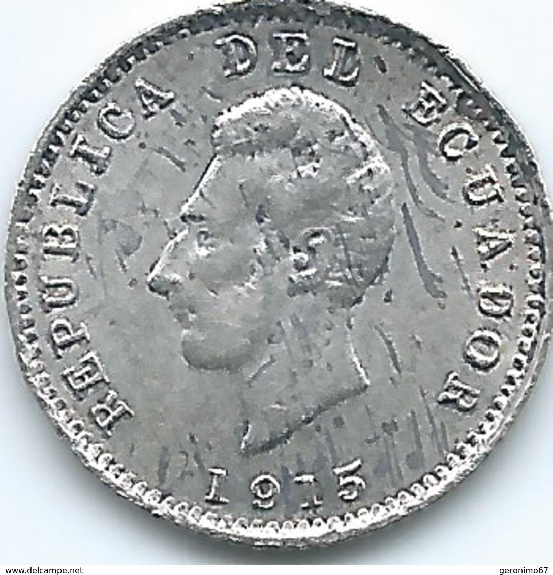 Ecuador - 1915 - ½ Decimo De Sucre - KM55.2 - Ecuador