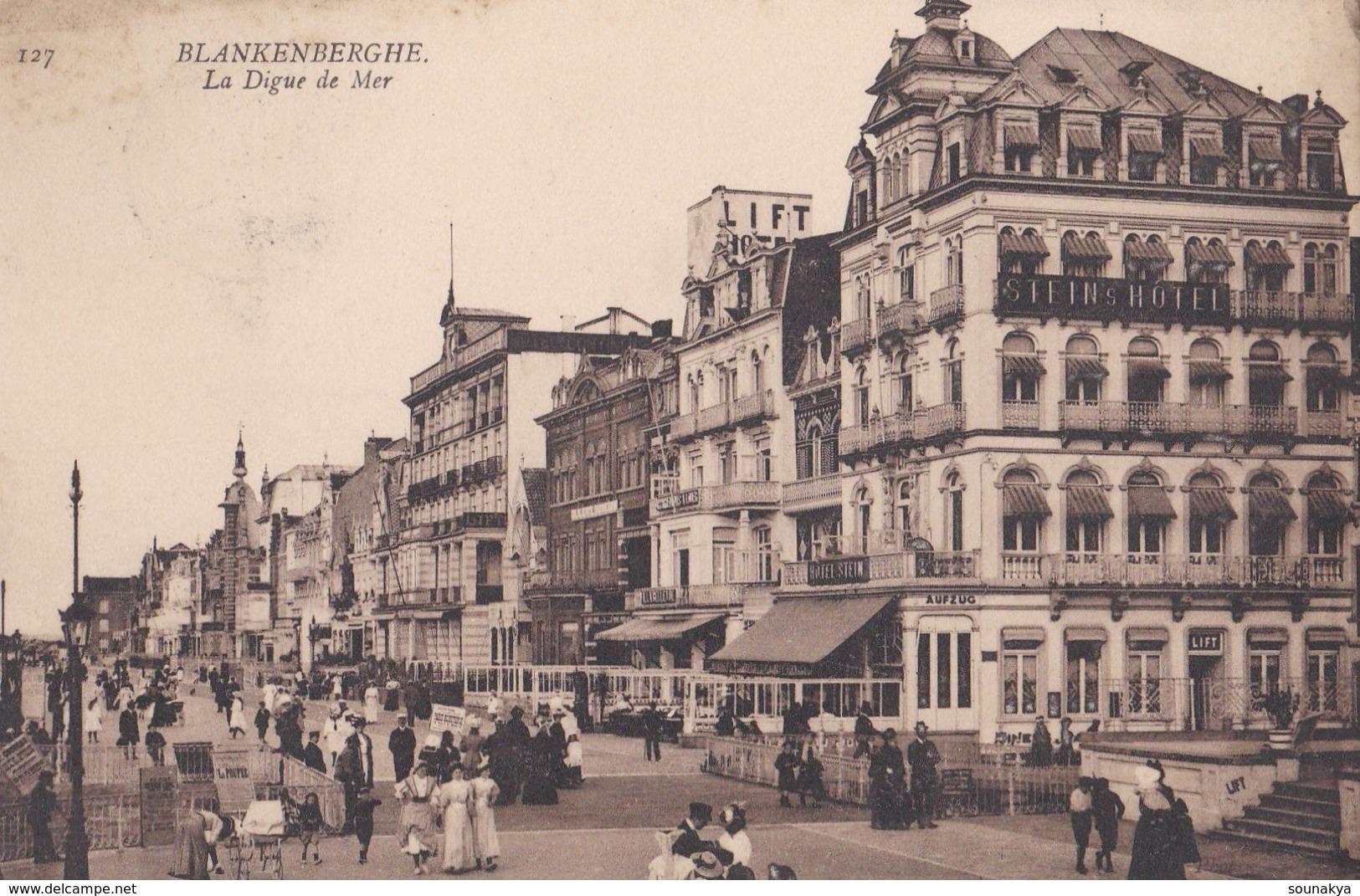 BLANKENBERGHE // La Digue De Mer - Blankenberge