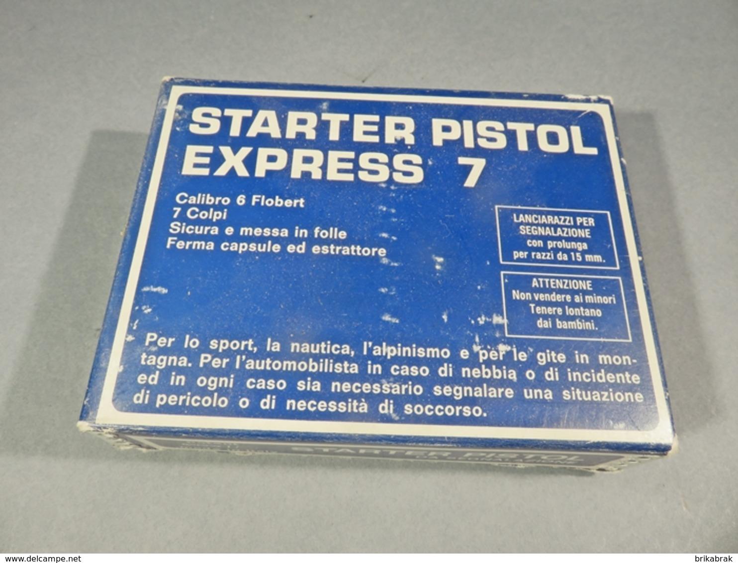 * PISTOLET PISTOL EXPRESS - Sport Course Alarme Arme - Decorative Weapons