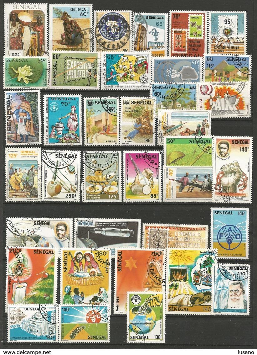 Afrique - 900 Timbres Neufs Ou Oblitérés : Bénin, Burkina Faso, Etc... Voir Description - Stamps