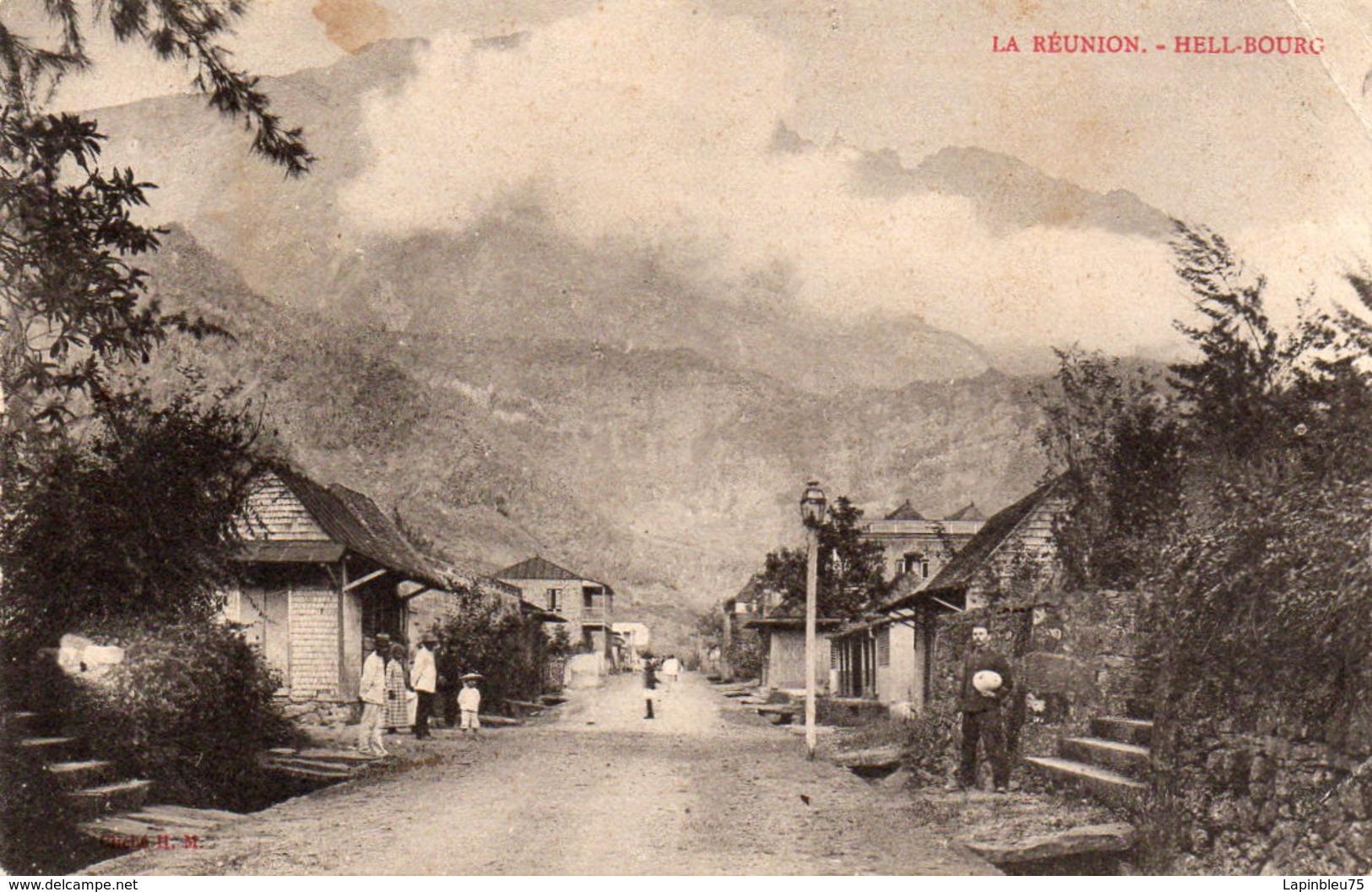CPA La Réunion Saint Denis Hell-Bourg - Réunion