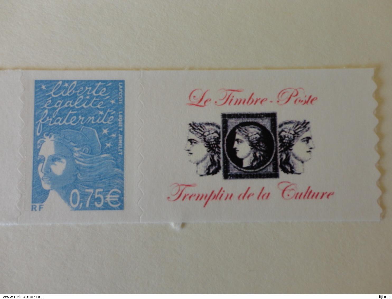 TIMBRE DE FRANCE PERSONNALISE  N°3729B MNH - Personalisiert