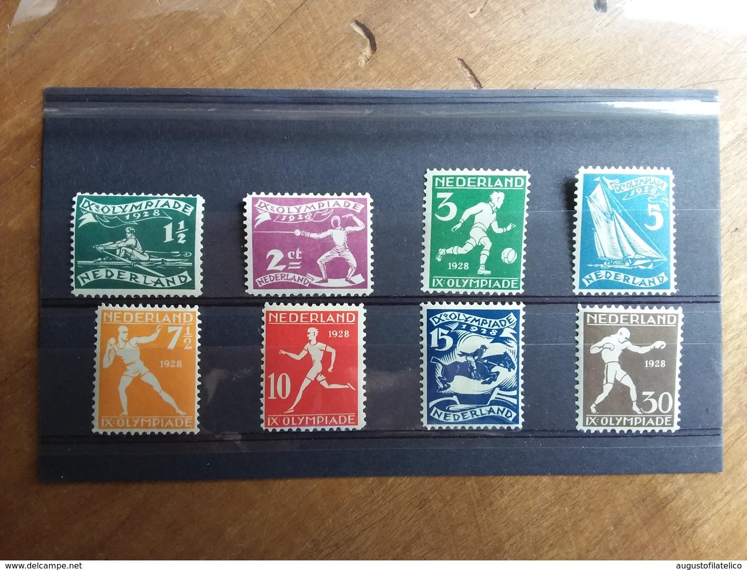 OLANDA - Olimpiadi Di Amsterdam 1928 - Nn. 199/206 Nuovi ** + Spedizione Raccomandata - Periodo 1891 – 1948 (Wilhelmina)