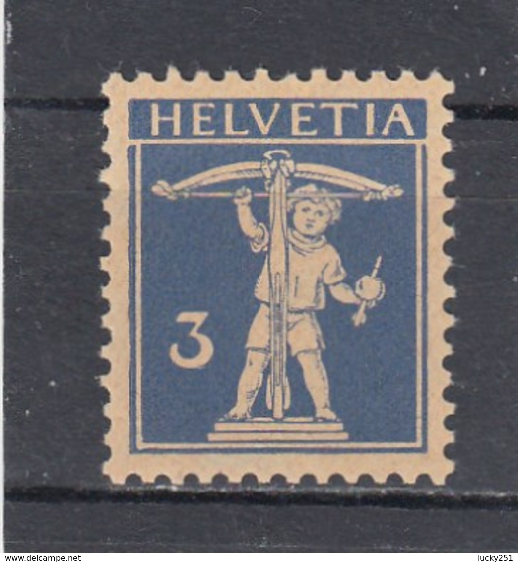 Suisse - N° YT 241** - Année 1930/31 - Walter Tell - - Nuovi