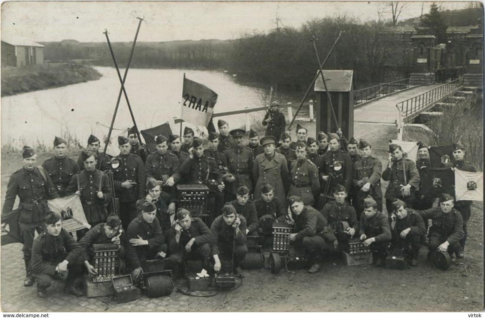 Fort 3 :  Oude God Mortsel - Berchem Anvers  (  Foito Kaart )  2 RAA  Transmissie - Non Classés