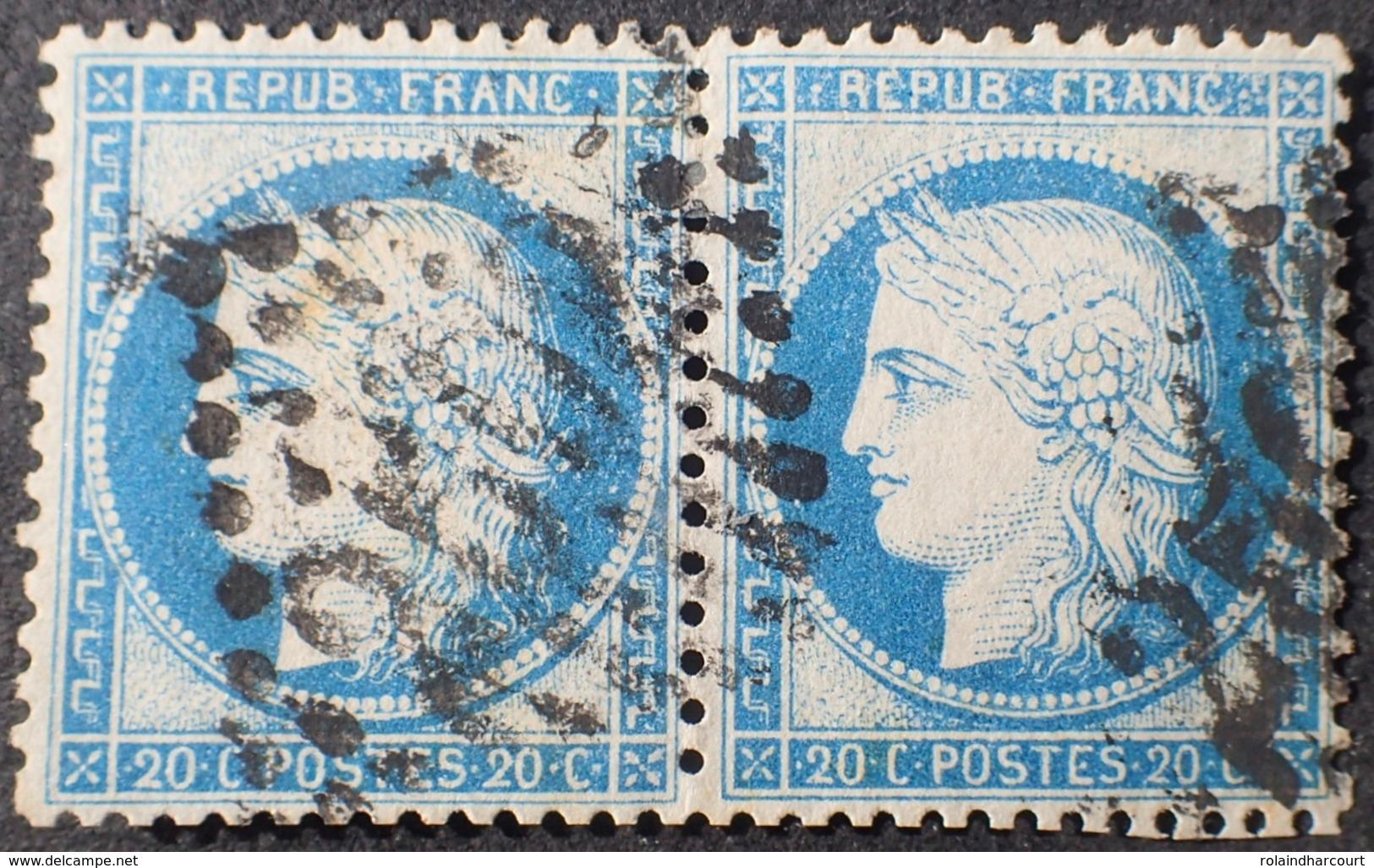 R1970/31 - CERES (PAIRE) N°37 - GC 2502 : MONTPELLIER (Hérault) - 1870 Siège De Paris