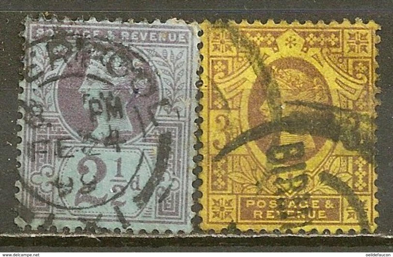 YVERT - 95-96 - 1840-1901 (Victoria)