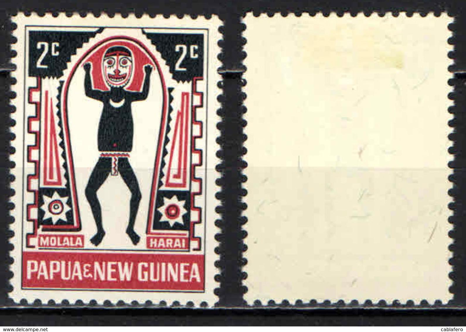 PAPUA NUOVA GUINEA - 1966 - Myths Of Elema People - MH - Papua Nuova Guinea