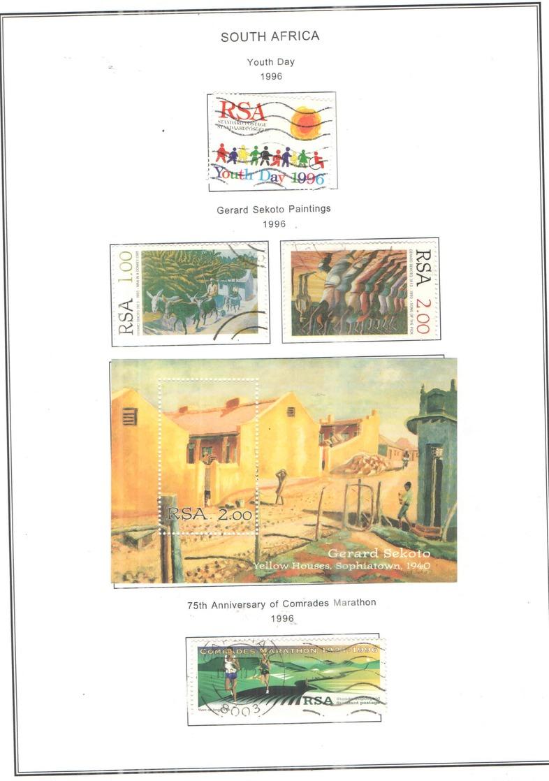 Sud Africa  PO 1996 Giornata Gioventù   Scott.944. See Scan On Scott.Page; - Usati