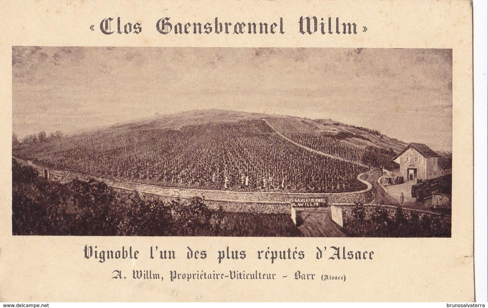 BARR - CLOS GAENSBROENNEL WILLM - Barr