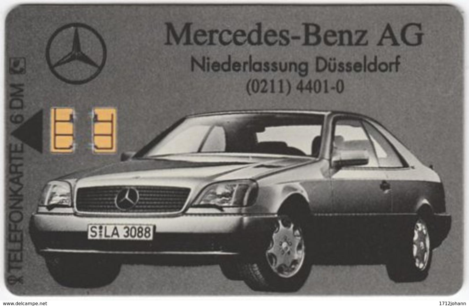 GERMANY O-Serie A-942 - 201 09.92 - Traffic, Car, Mercedes - MINT - O-Series: Kundenserie Vom Sammlerservice Ausgeschlossen