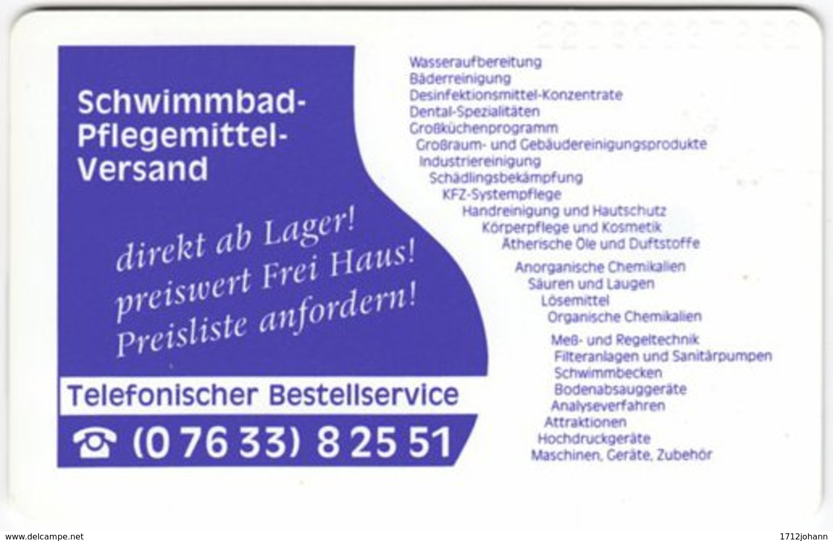 GERMANY O-Serie A-954 - 092 05.92 - MINT - O-Series: Kundenserie Vom Sammlerservice Ausgeschlossen