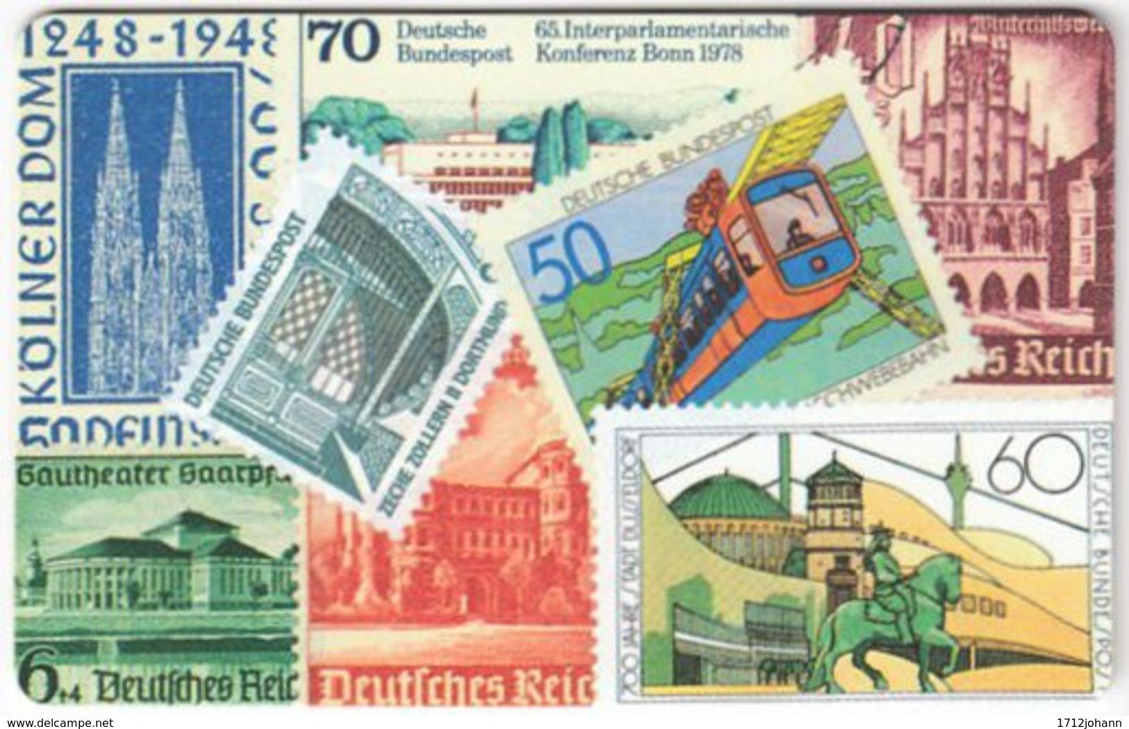 GERMANY O-Serie A-955 - 095 05.92 - Collection, Stamp - MINT - O-Series: Kundenserie Vom Sammlerservice Ausgeschlossen