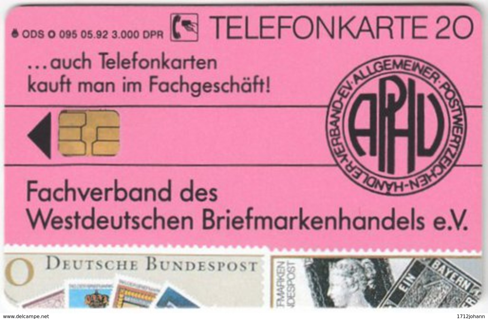 GERMANY O-Serie A-955 - 095 05.92 - Collection, Stamp - MINT - Deutschland