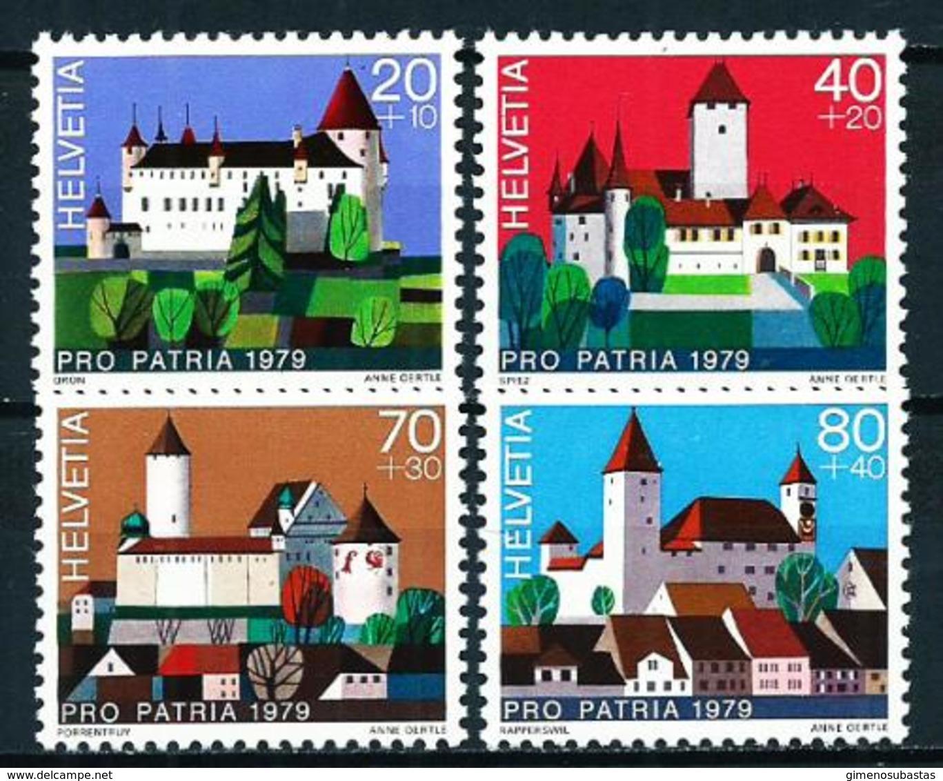 Suiza Nº 1086/9 Nuevo - Suiza