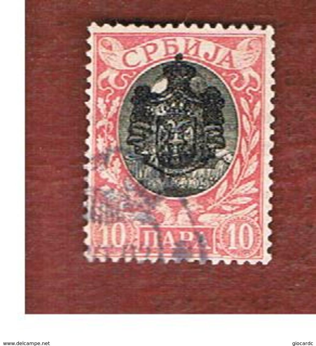 SERBIA   - SG 96  -   1903 KING ALEXANDER I (OVERPRINTED) -  USED - Serbia