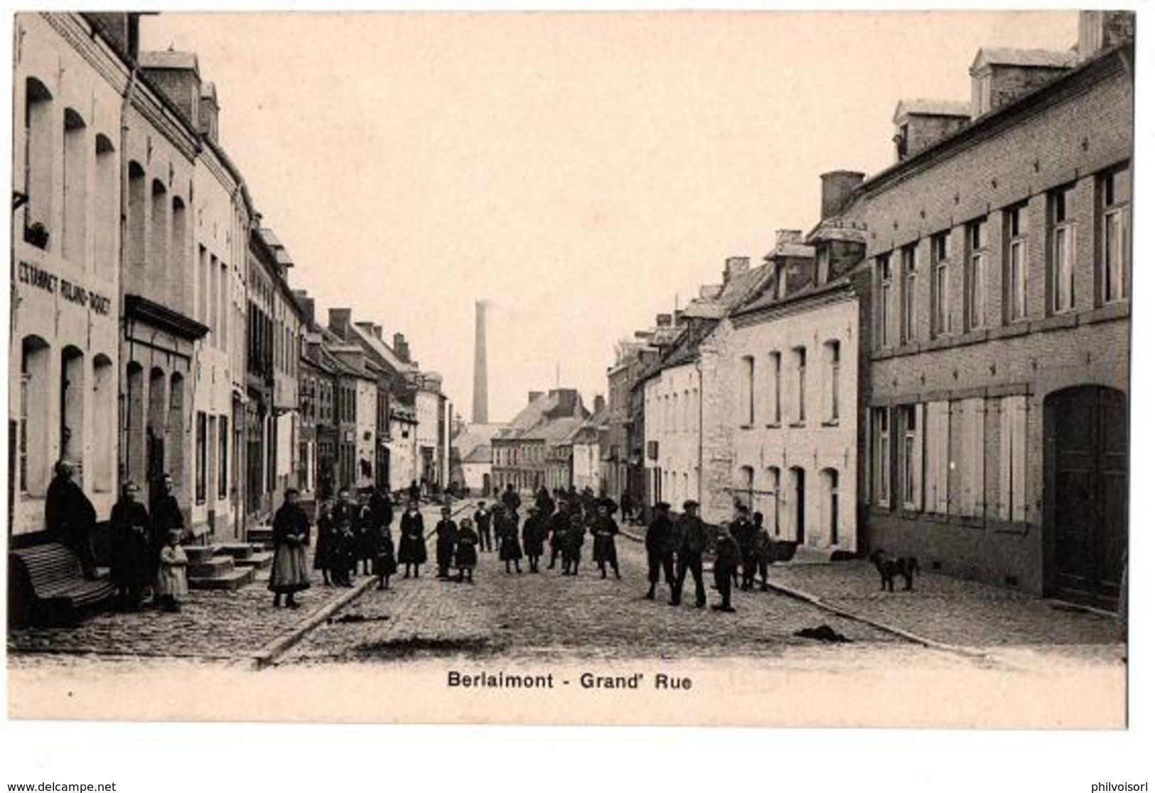 BERLAIMONT GRANDE RUE TRES ANIMEE - Berlaimont