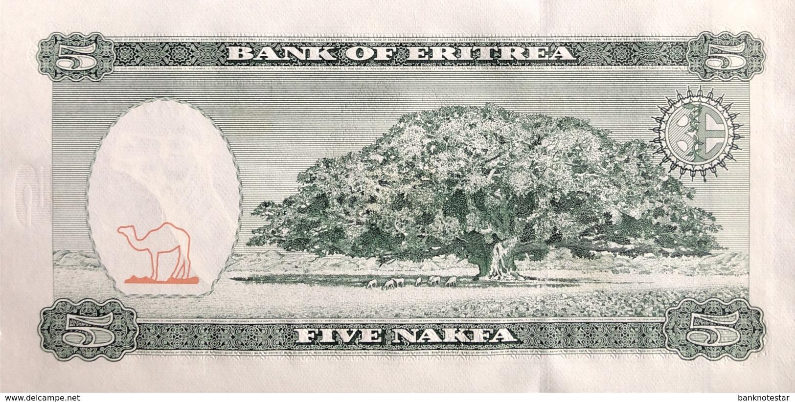 Eritrea 5 Nakfa, P-2 (25.4.1997) - UNC - Eritrea