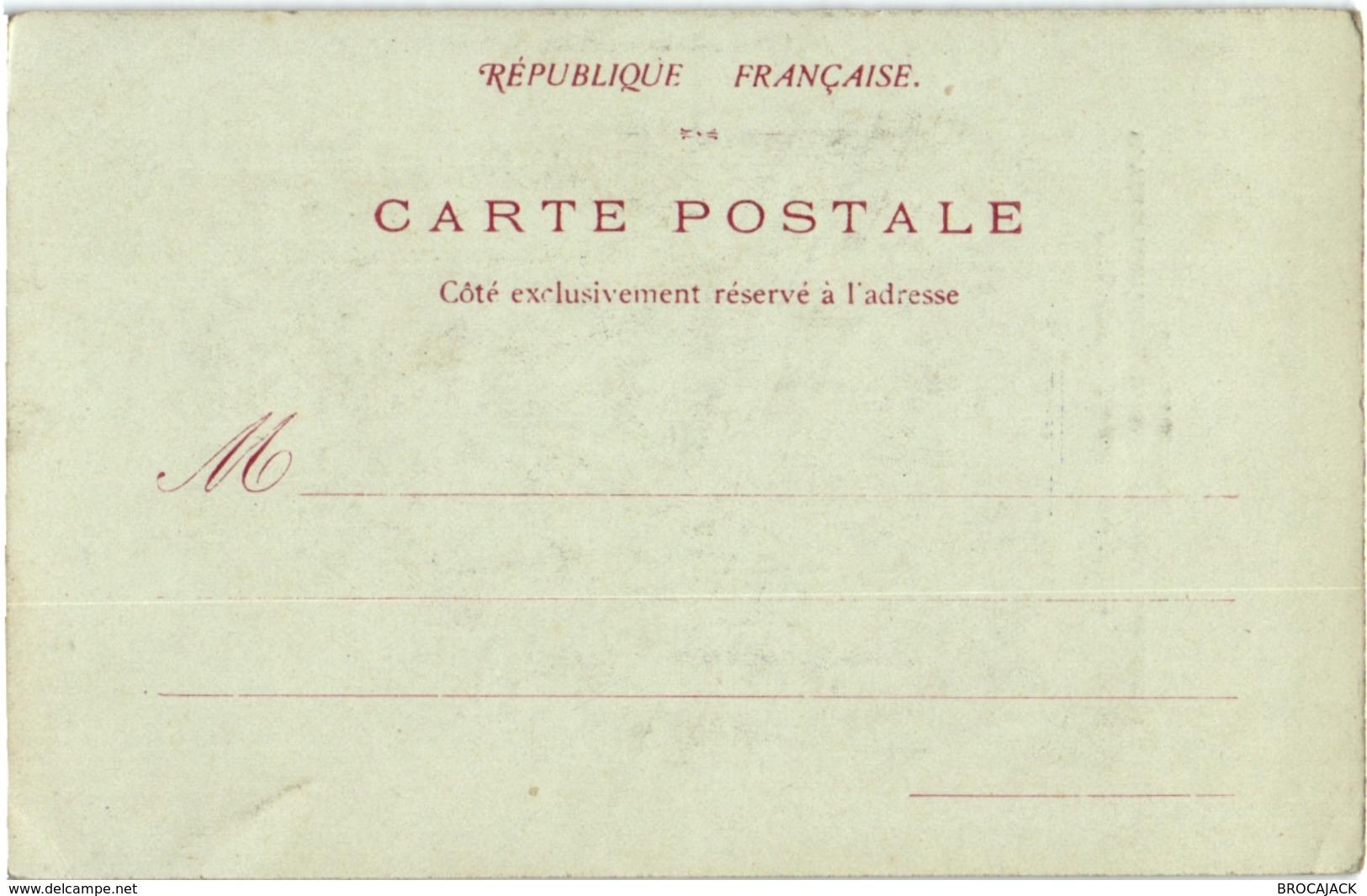 CPA PRECURSEUR 91 ETAMPES LA FONTAINE VERET - PRESENCE DE MR OCTOBRE SCULPTEUR - Etampes