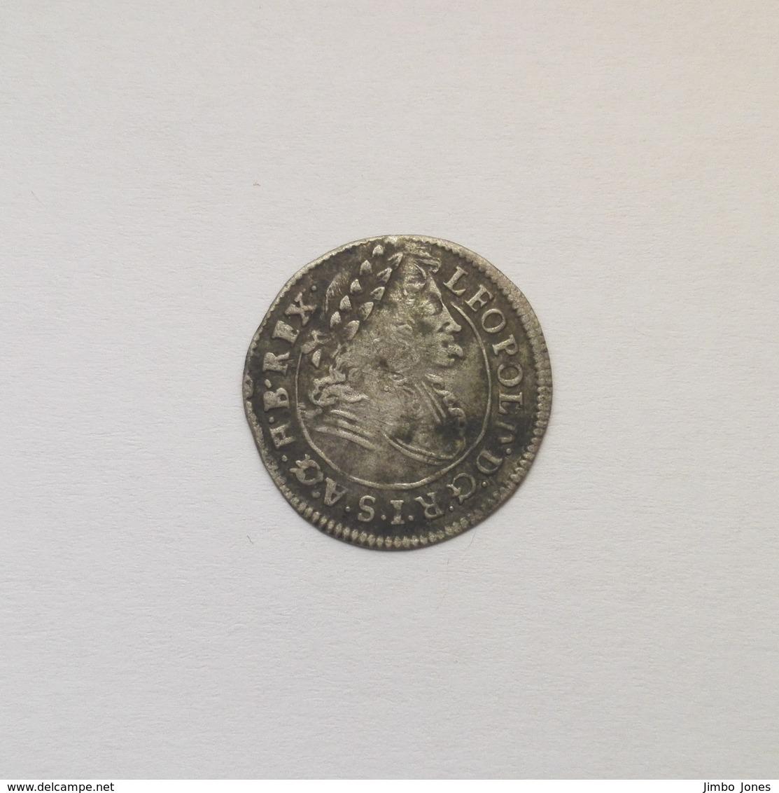 1 Poltura Münze Aus Ungarn Von 1699 (sehr Schön Bis Vorzüglich) - Hungary